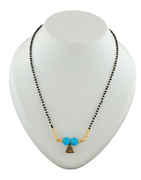 Antique Gold Finish Traditional Cahngeble Mangalsutra For Navaratri Festival