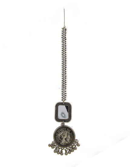 Navratri Borla Mang Tika For Navratri/Dandiya Garba Jewellery