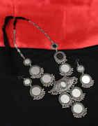 Oxidised Finish Designer Navratri/Garba Necklace Jewellery