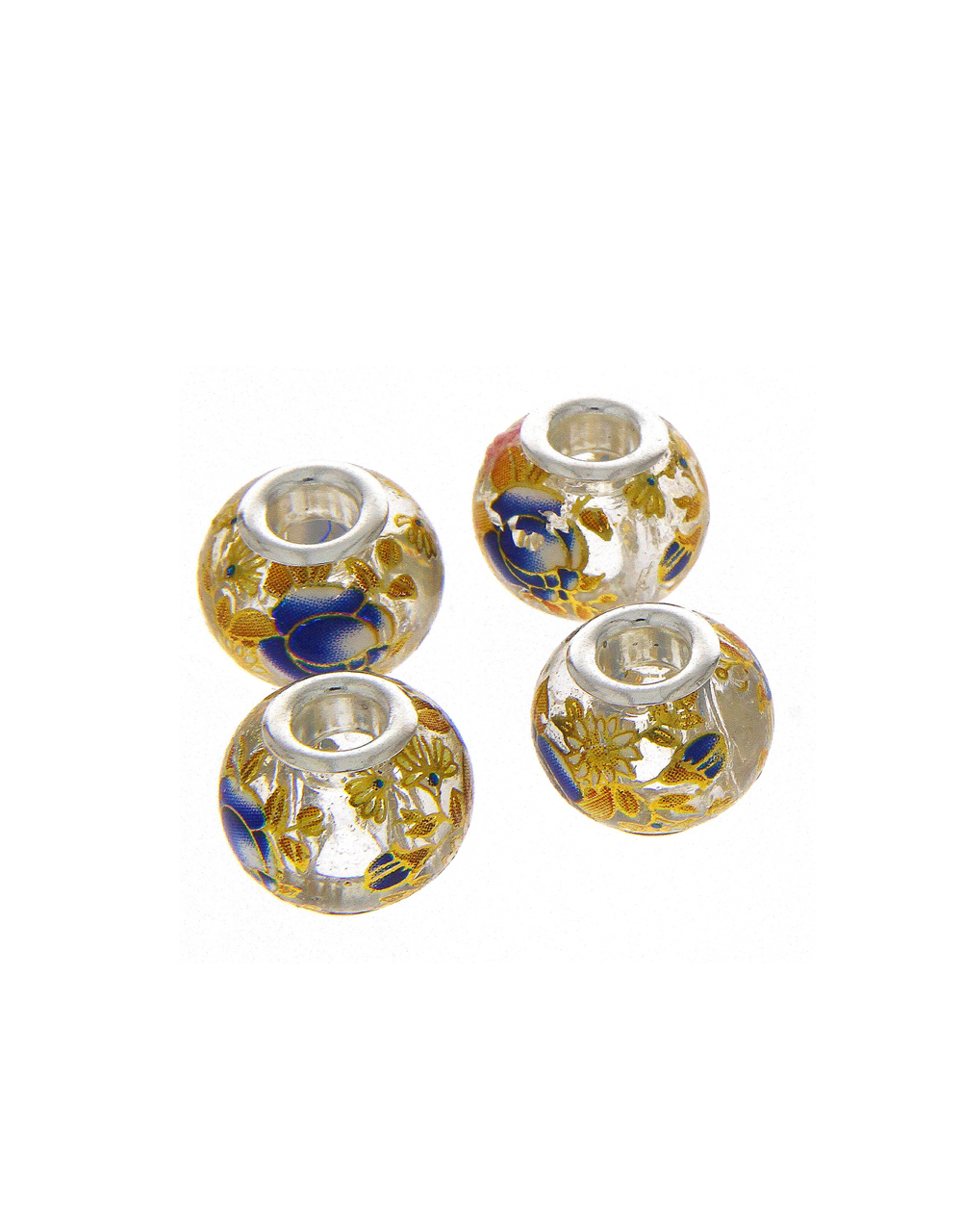 Multi Colour Jewellery Making Beads