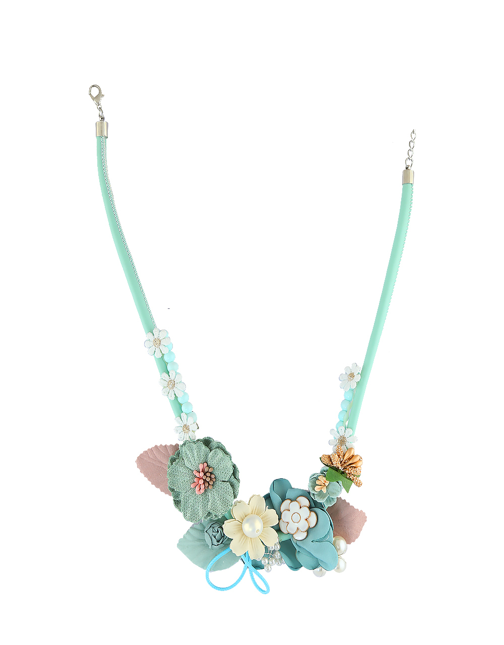 Floral Design Necklace Jewellery Set