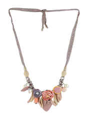 Pink Colour Adorable Necklace jewellery