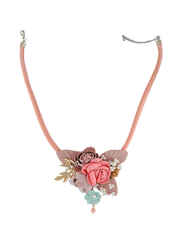 Brown Colour Western Wear Necklace Jewellery Set