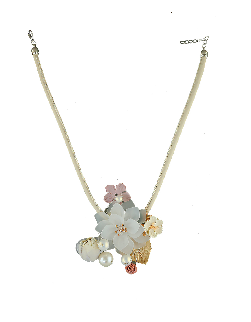 Designer Western  Floral Necklace for Girls