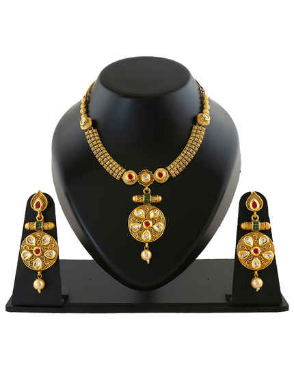 88ce0ba14 Temple Jewellery: Buy Antique & South Indian Jewellery Online For ...