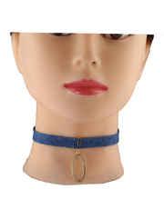 Blue Colour Western Wear Chokar Necklace
