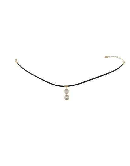 Gold Finish Designer Chokar Jewellery