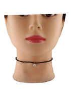 Simple Black Beads Stylish Chokar Jewellery