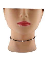 Black Cristal Beads Chokar Necklace
