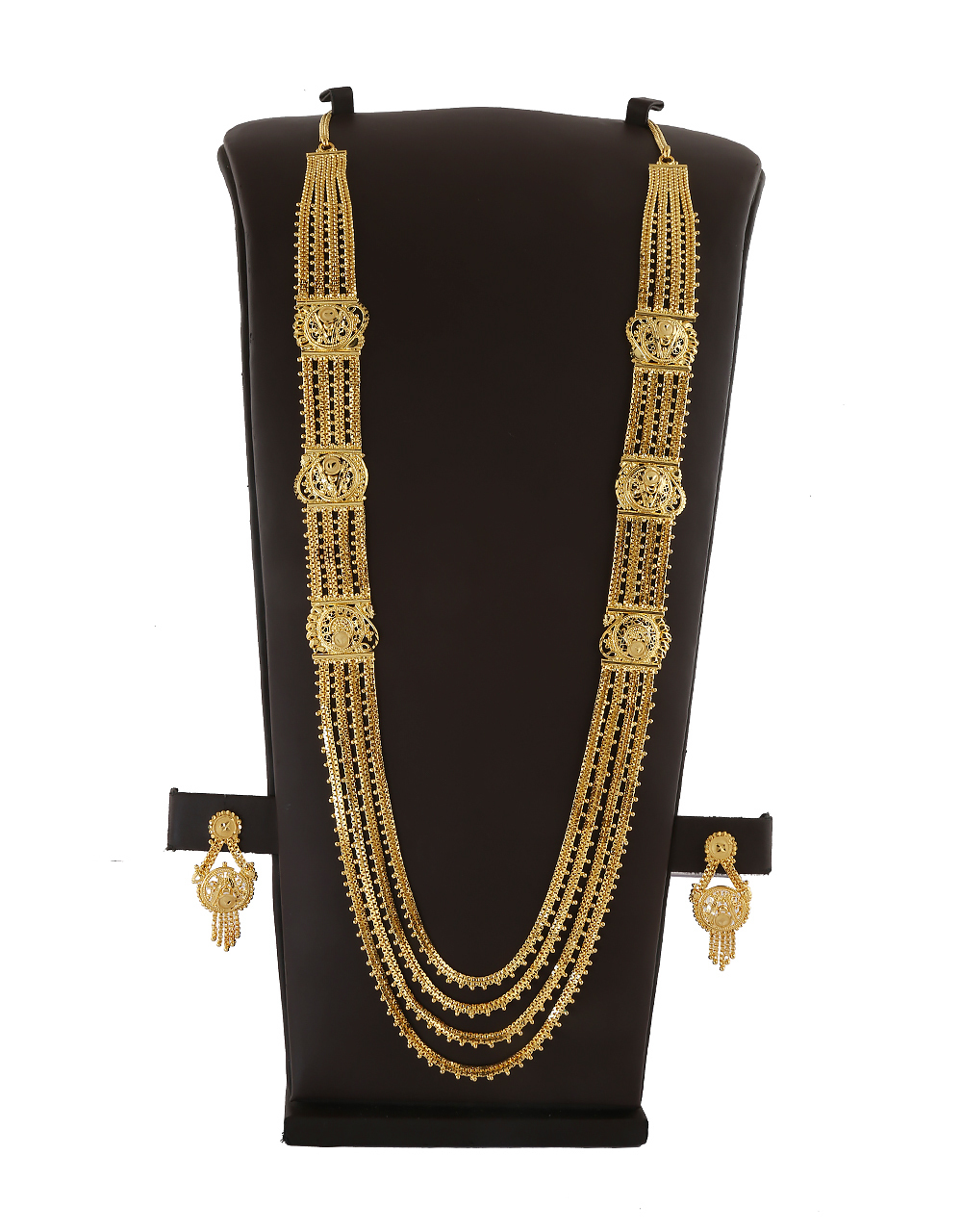 Fashionable Gold Finish Artificial Necklace Jewellery
