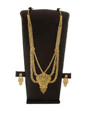 Gold Finish Beautiful South Indian Traditional Jewellery