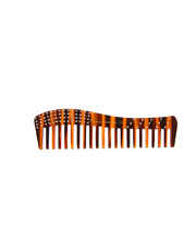 Simple Brown Colour Comb Studded With Stones Hair Comb