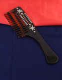 Designer Brown Colour Adorable Hair Comb