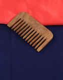 Blue Colour Fancy Hair Comb Design