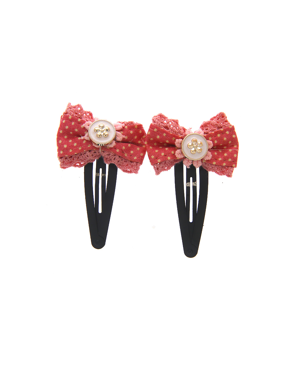 Pink Colour Fancy Hair Pin Accessories