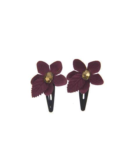 Purple Colour Floral…