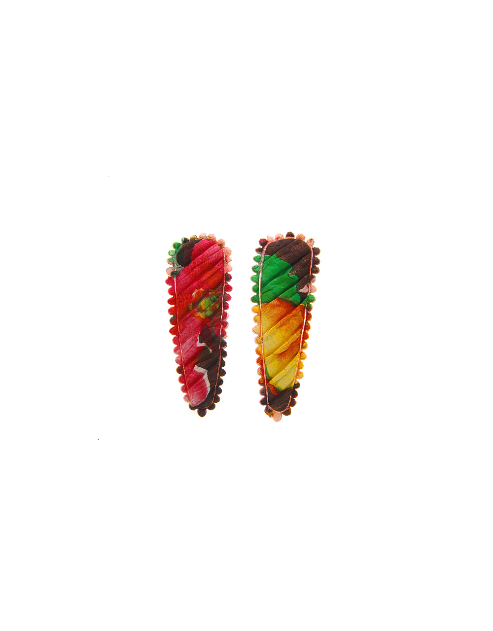 Multi Colour Trendy Simple Hair Side Pin