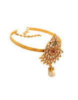 Antique Gold Finish Fancy Armlet Design