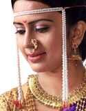 Simple Moti Mundavalya For Bridal