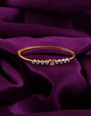 Very Simple Gold Finish Hand Bracelets