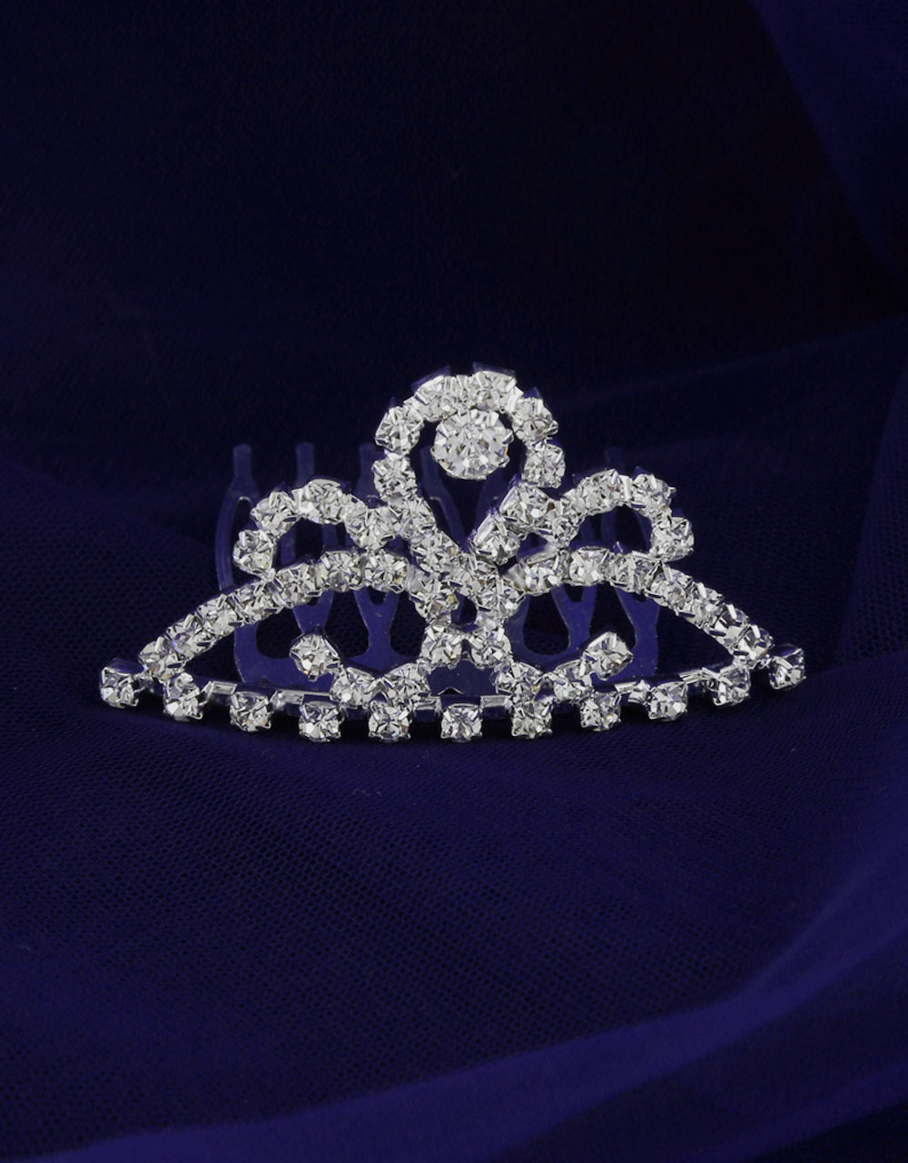 Simple Silver Finish Simple Crown