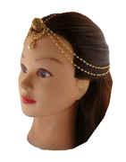 Fashionable Borla Tikka Studded With Stones Hair Accessories