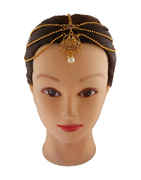 Traditional Matha Patti Studded With Stones Hair Accessories