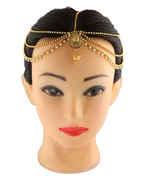 Traditional Gold Finish Fancy Matha Patti