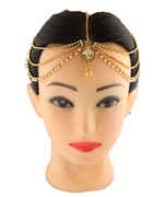 Traditional Gold Finish Hair Matha Patti