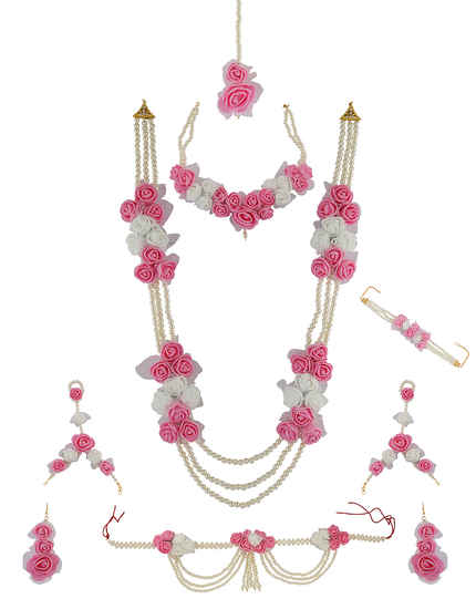 Buy Artificial Flower Jewellery Online Wedding Baby Shower