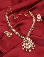 Multi Colour Very Classy Designer Diamond Necklace
