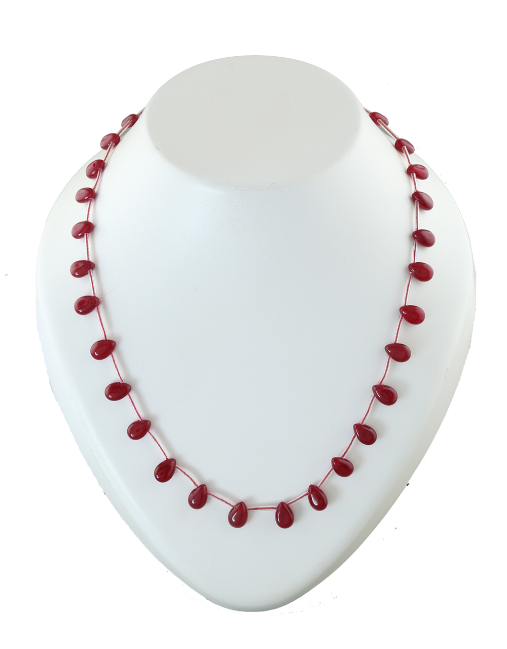 Red Colour Beads Cristal Mala