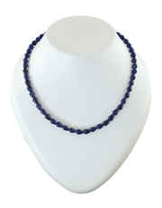 Blue Colour Fancy Beads Mala