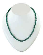 Green Colour Designer Beads Mala Fancy
