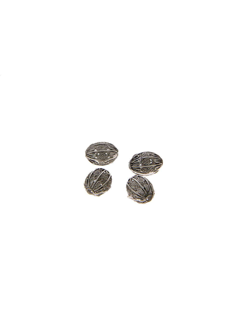 Stylish Silver Finish Beads