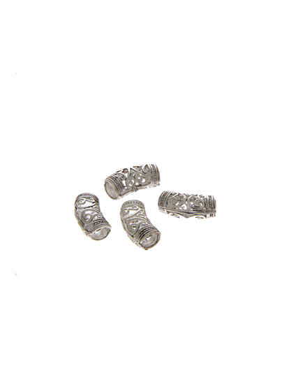 Adorable Silver Finish Jewellery Beads Accessories