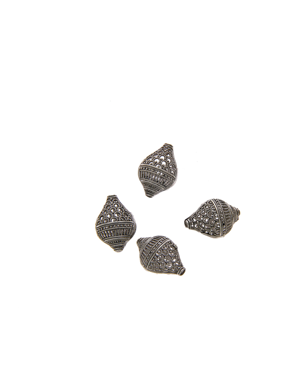 Fancy Silver Finish Material Jewellery