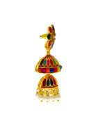 Traditional Multi Colour Gold Finish Zumkaa
