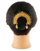 Gold Finish Designer Hair Ambada Pin For Wedding