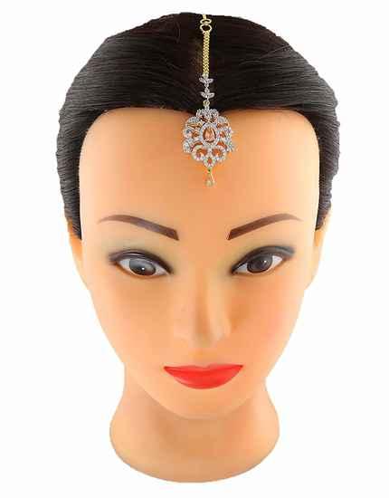 Designer Diamond Mang Tika Fancy