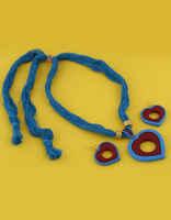 Very Claasy Fancy Terracotta Necklace