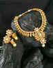 Fashionable Gold Finish Necklace For Wedding