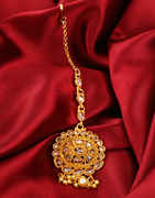 Very Classy Gold Finish Mang Tika Fancy