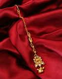 Simple Gold Finish Designer Mang Tika