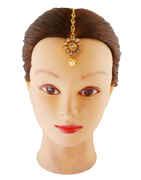 Designer Floral Design Mang Tikka Hair Accessories