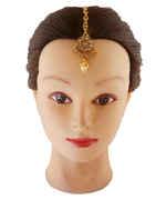 Antique Gold Finish Mang Tika Hair Jewellery