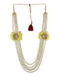 Yellow Colour Fashionable Baby-Shower Jewellery
