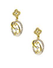 Designer Gold Finish Diamond Necklace
