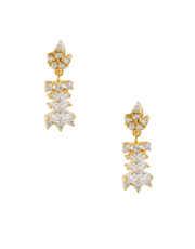 Floral Design Gold Finish Necklace Designer