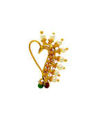 Fancy Gold Finish Maharashtrian Nath